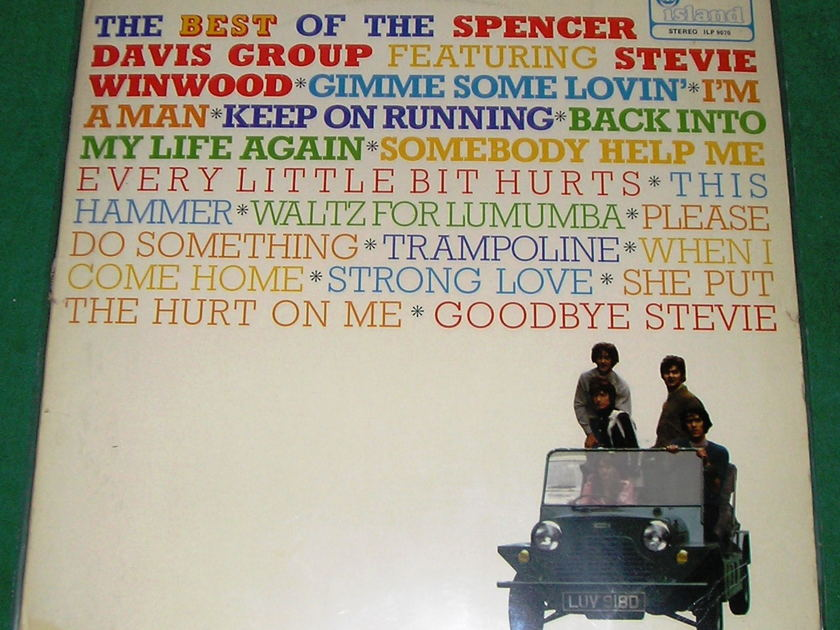 SPENCER DAVIS GROUP *BEST OF...* - ISLAND PINK EYE 1st PRESS * 1970 IMPORT - NM 9/10 *