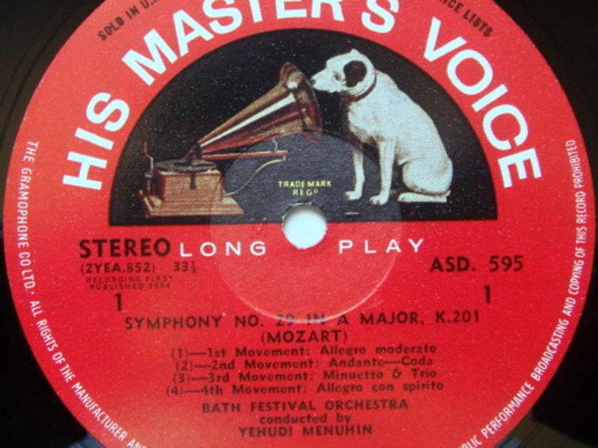 EMI ASD SEMI-CIRCLE / MENUHIN, - Mozart-Haydn Symphonies, NM!