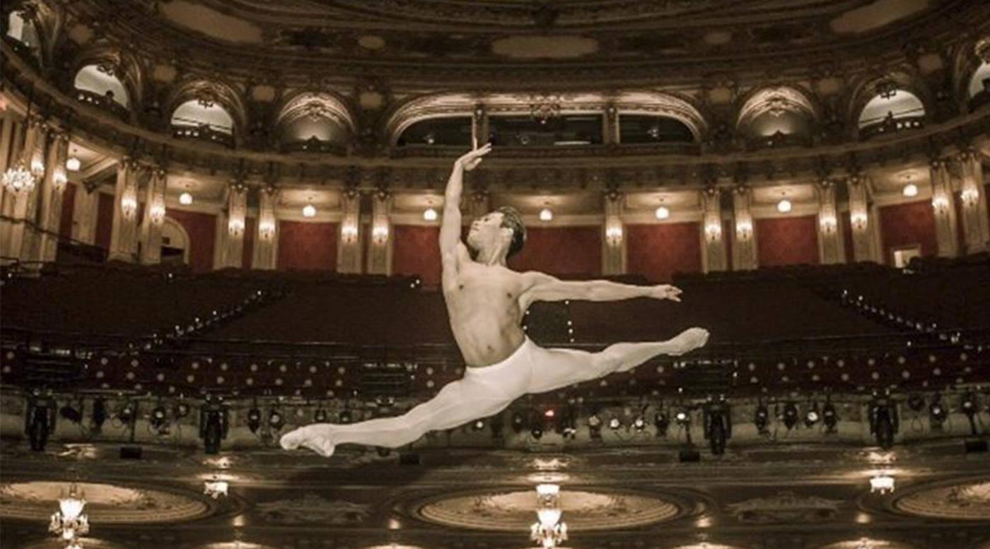 John Lam, principal dancer with boston ballet