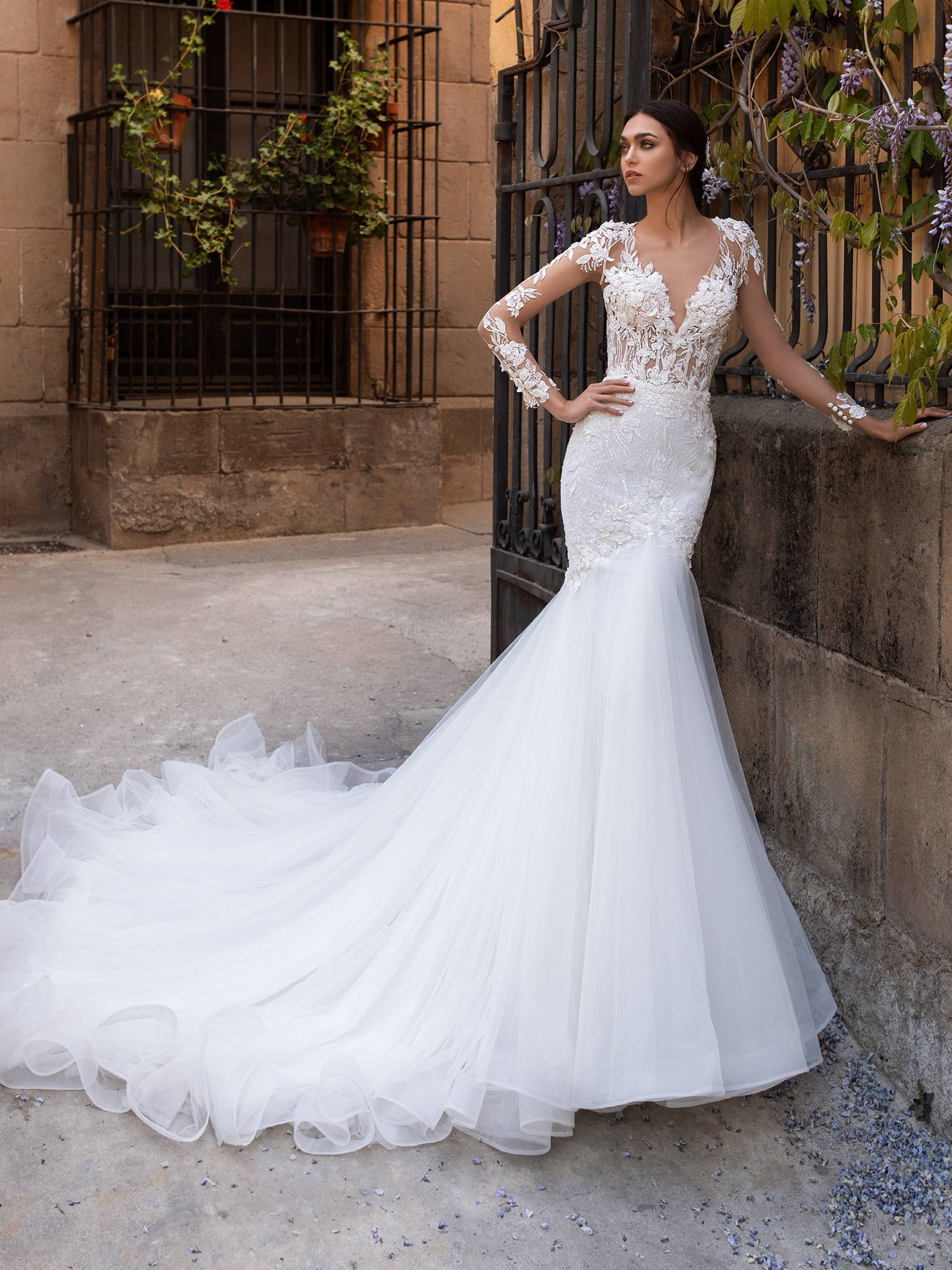 PRONOVIAS dione WEDDING DRESS