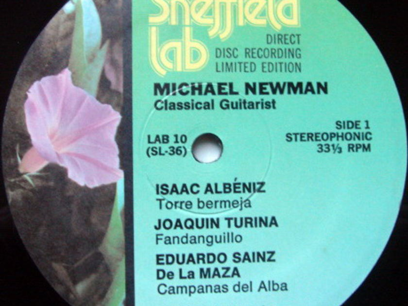 ★Audiophile★ Sheffield Lab / NEWMAN, - Bach Chaconne, MINT!