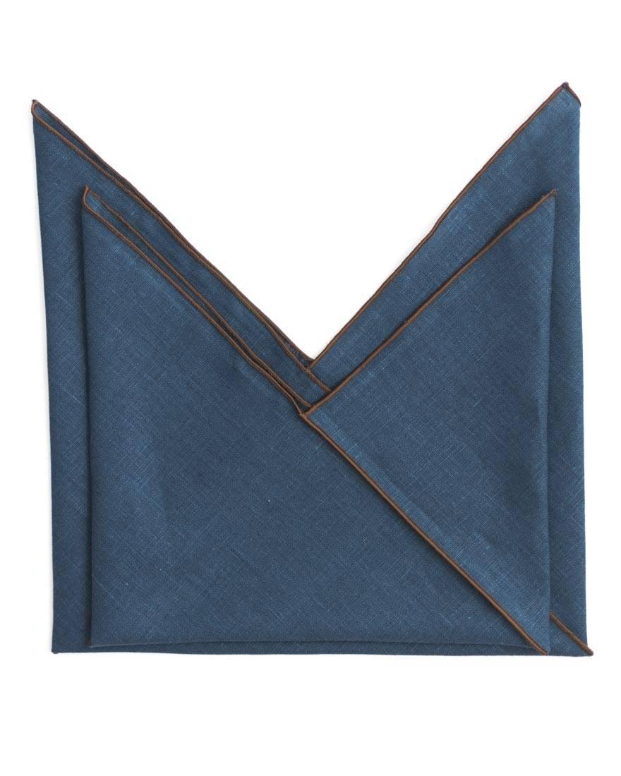 Navy Blue Market Pouch