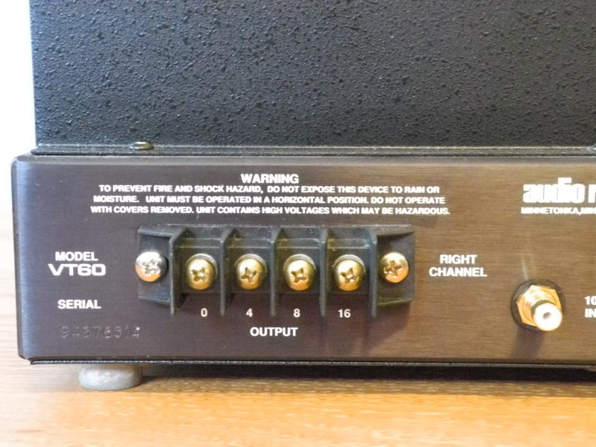 Audio Research VT-60 NEW PRICE REDUCTION!!!!!!!!!!!!
