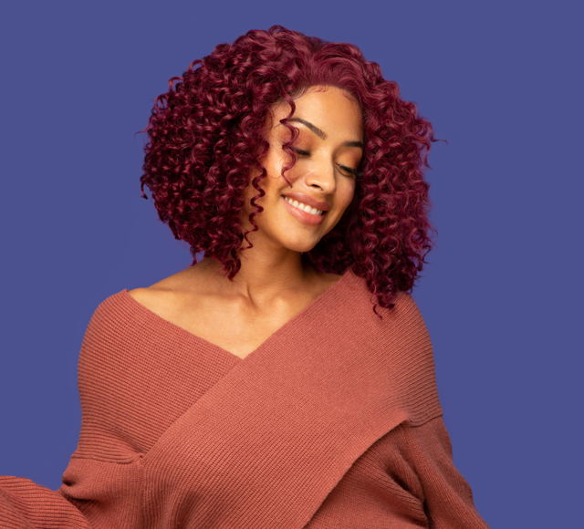 Deep Wave Vibrant Burgundy Closures Mayvenn