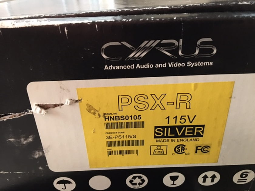 Cyrus  PSX-R Power Supply  CD Player Outboard Power Supply  (115 Volts) - New !