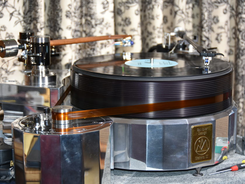 Galibier Design Stelvio II -- top-of-the-line turntable & extras & price drop!