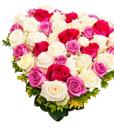 BF Blooming Heart Arrangement