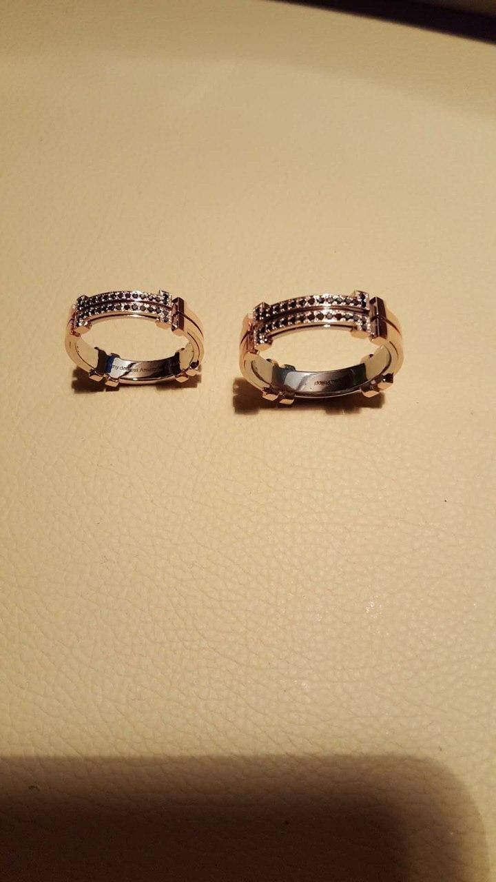 Philipp`s second pair of wedding rings