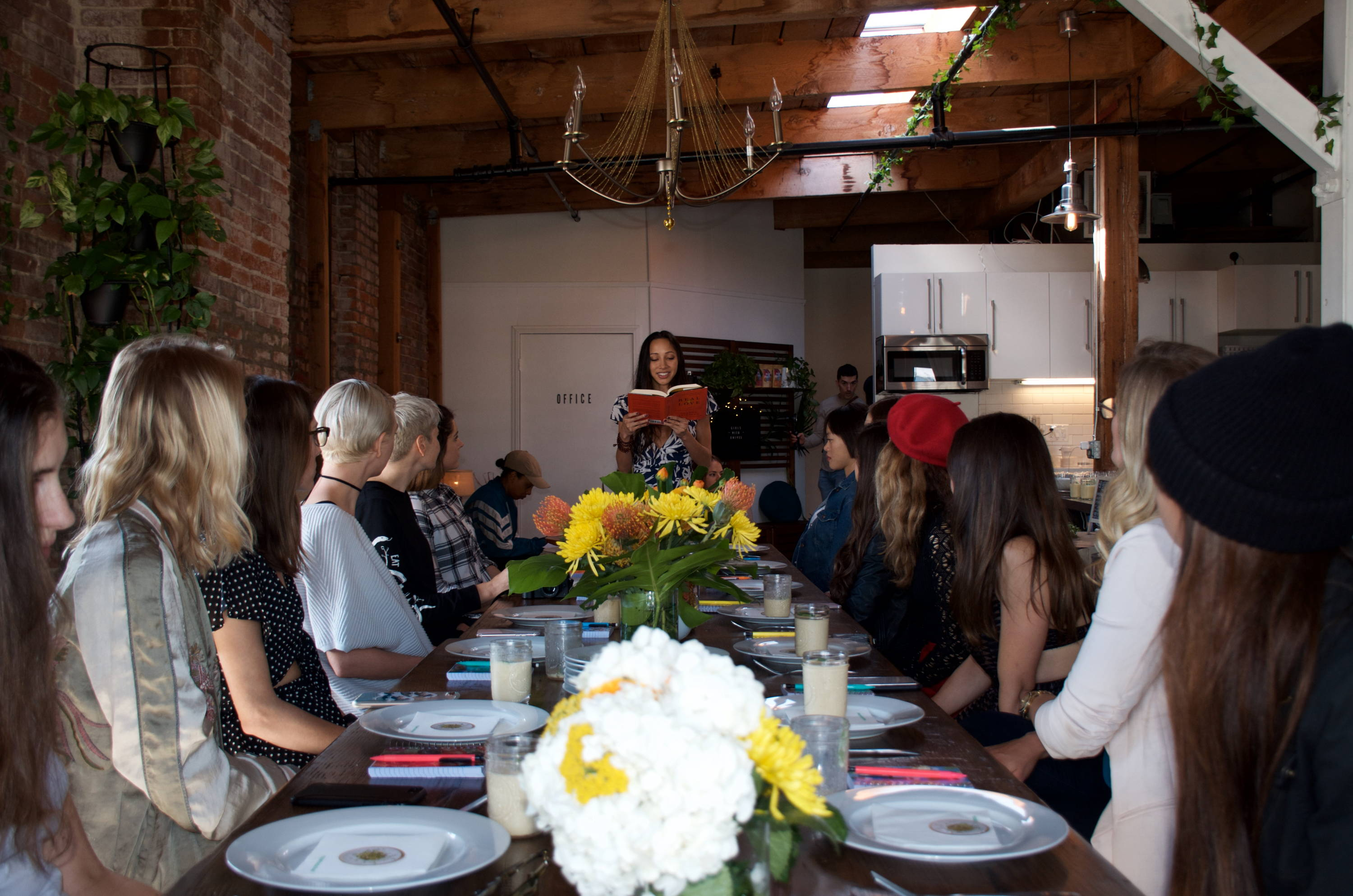 Celebrating female entrepreneurship, wellness, and food