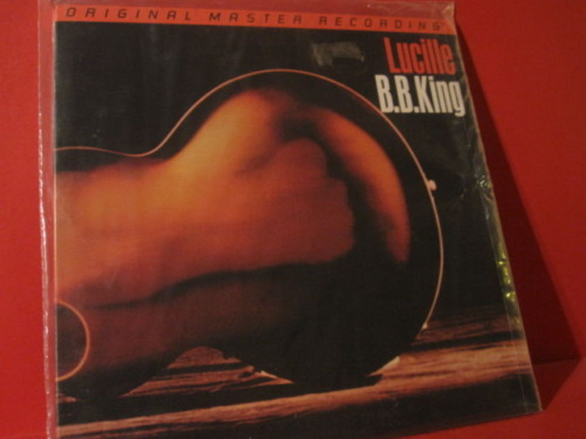 Bb king - Lucille MFSl 1-235 1 sealed copy + 1 open copy