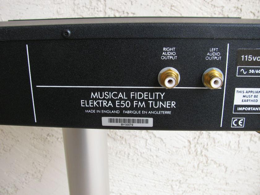 Musical Fidelity Elektra E50 FM Tuner