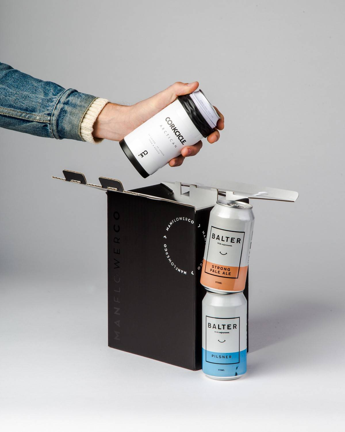 Corkcicle + Beer, part of Manflower Co's range of holiday gifts for men.