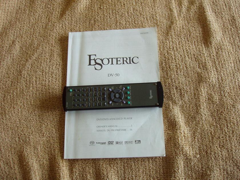 Esoteric DV 50 Universal Player