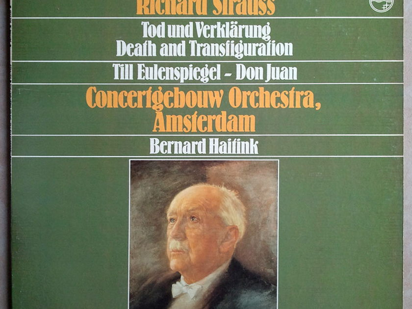 Philips/Haitink/Richard Strauss - Death and Transfiguration, Till Eulenspiegel, Don Juan / NM