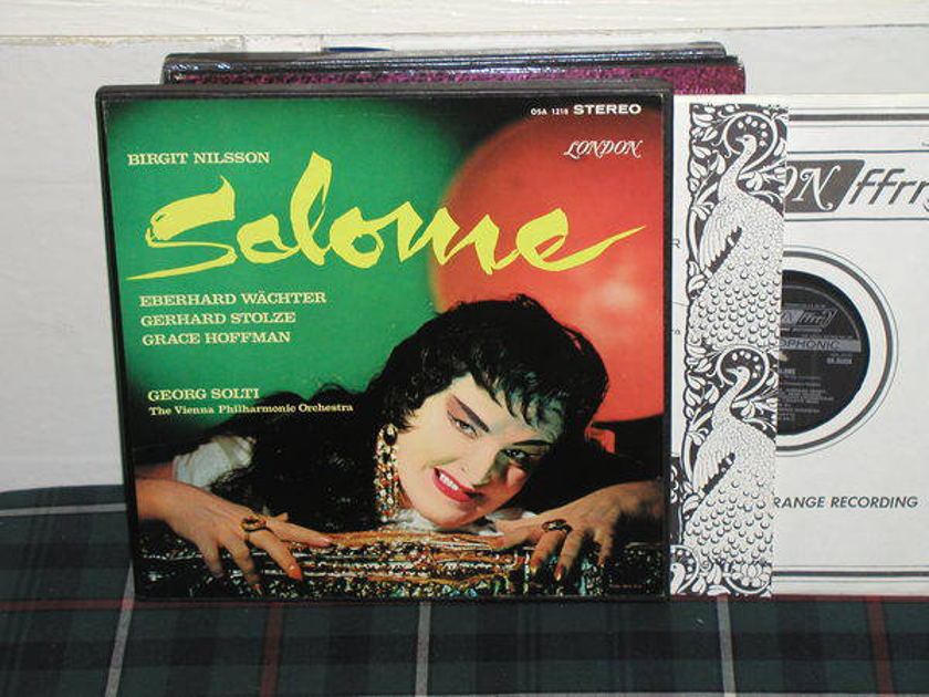 Solti/VPO - Salome London ffrr uk decca osa1218