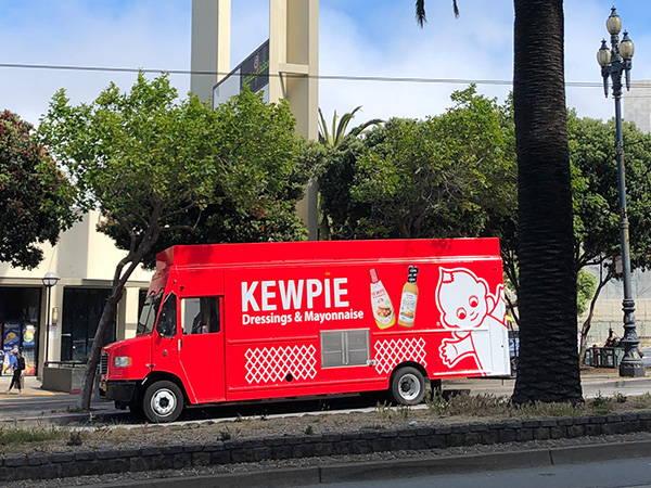 Kewpie Food Truck at Safeway