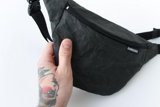 Крафтовая поясная сумка