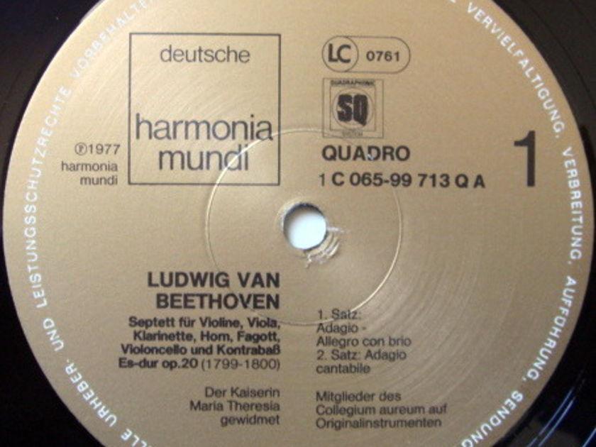 ★Audiophile★ Harmonia Mundi / COLLEGIUM AUREUM, - Beethoven Septet Op.20, NM!