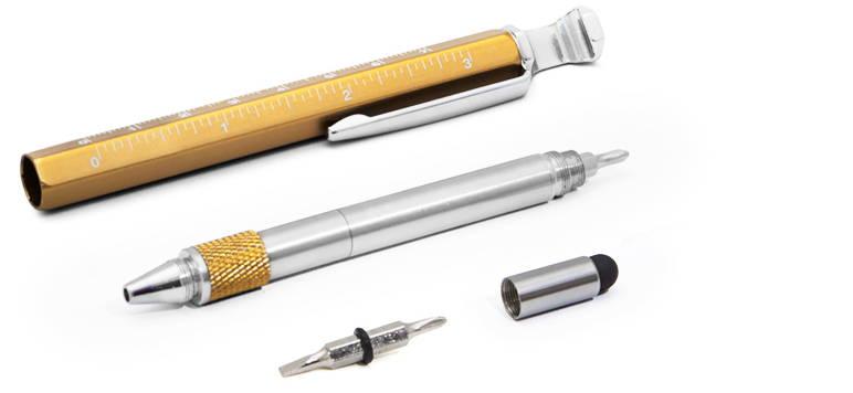 6-in-1 pen tool - brilliant gift for manly men