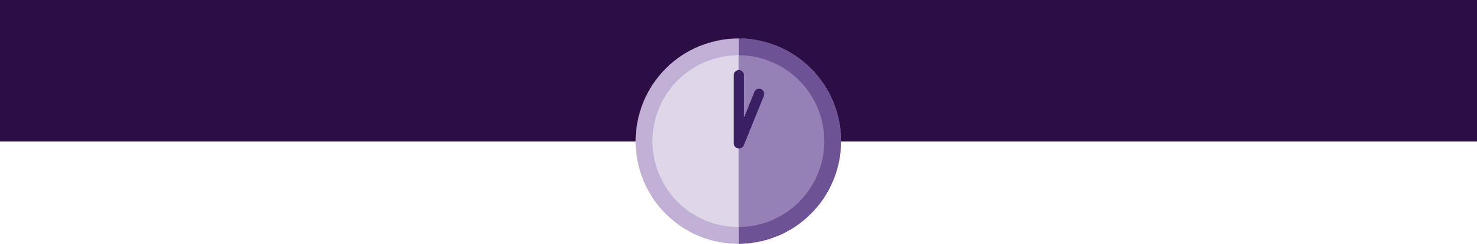 purple clock icon