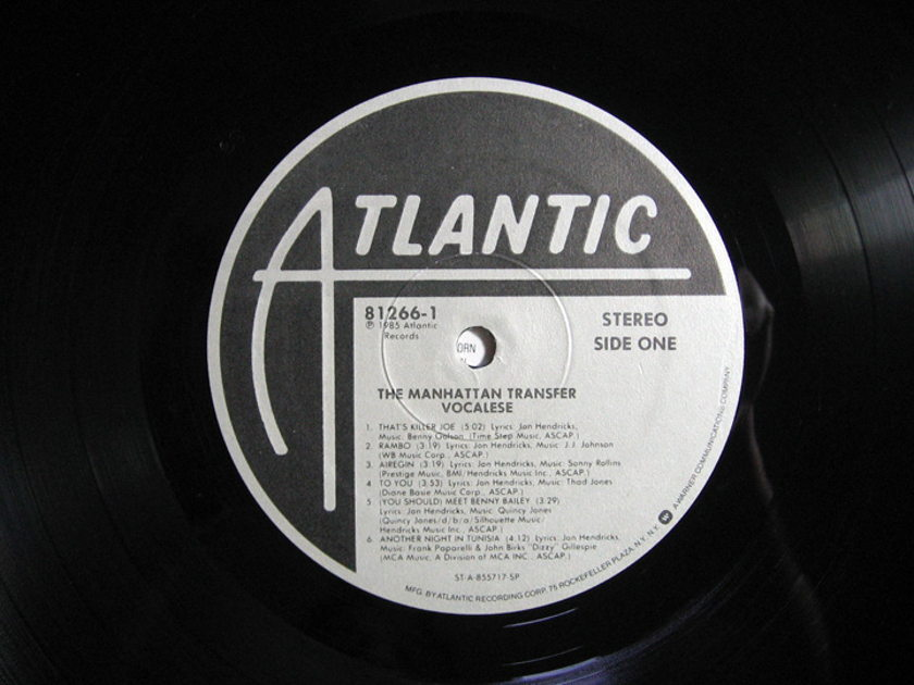 The Manhattan Transfer - Vocalese - 1985  Atlantic 81266-1