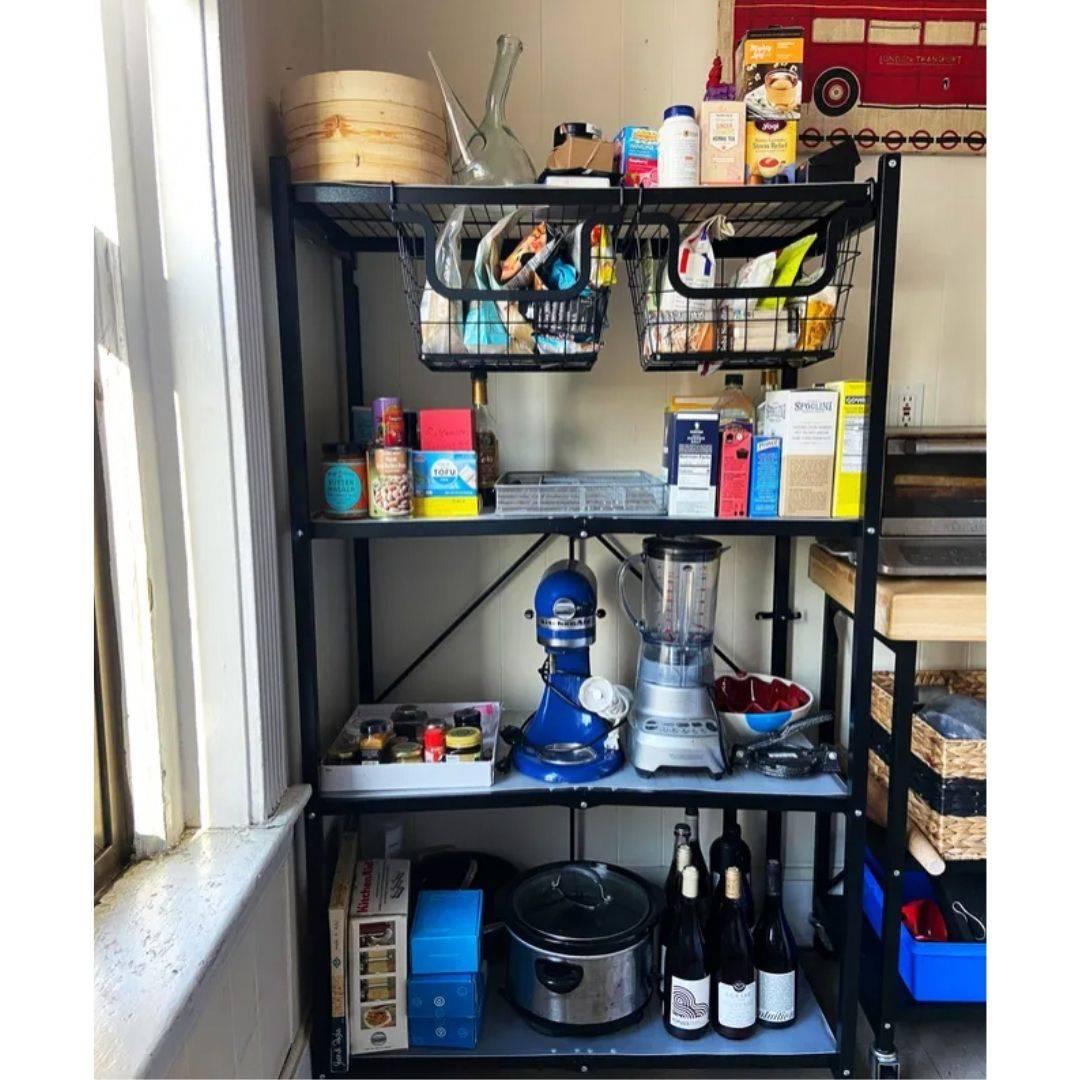 Pantry shelf, garage shelf, steel shelving