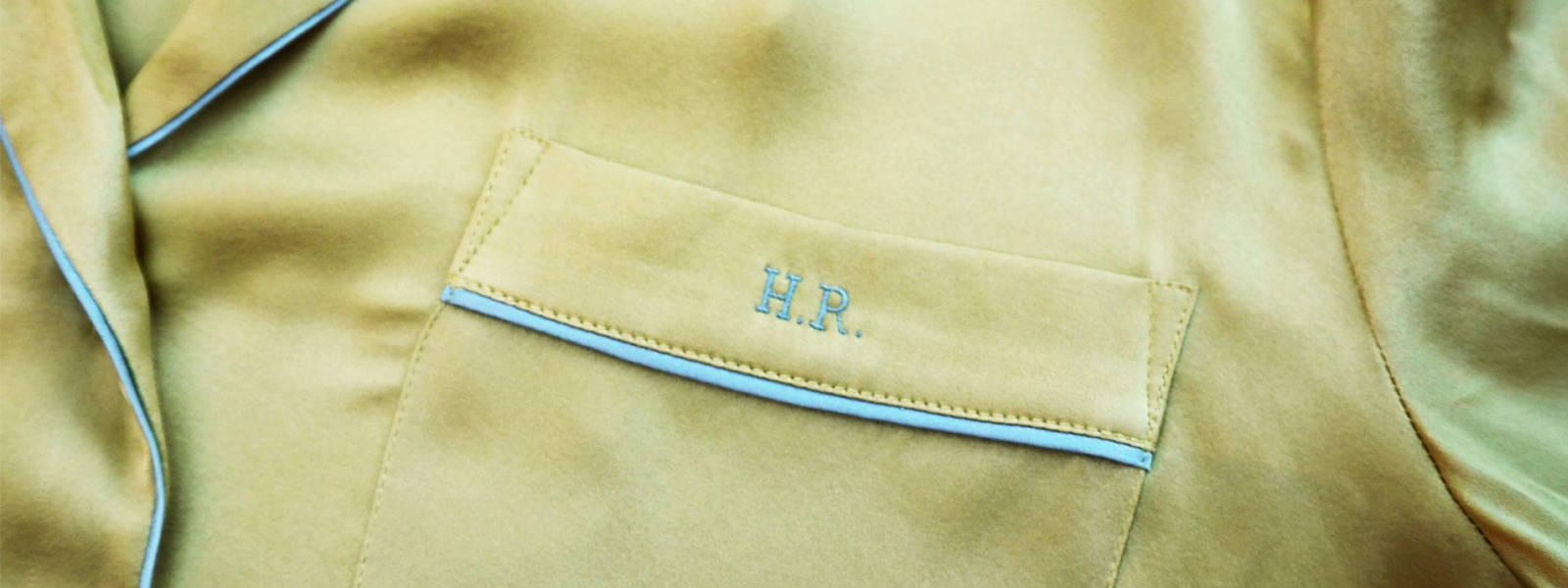 YOLKE Luxury Sleep & Daywear | Bespoke Monogramming | Starts at £15