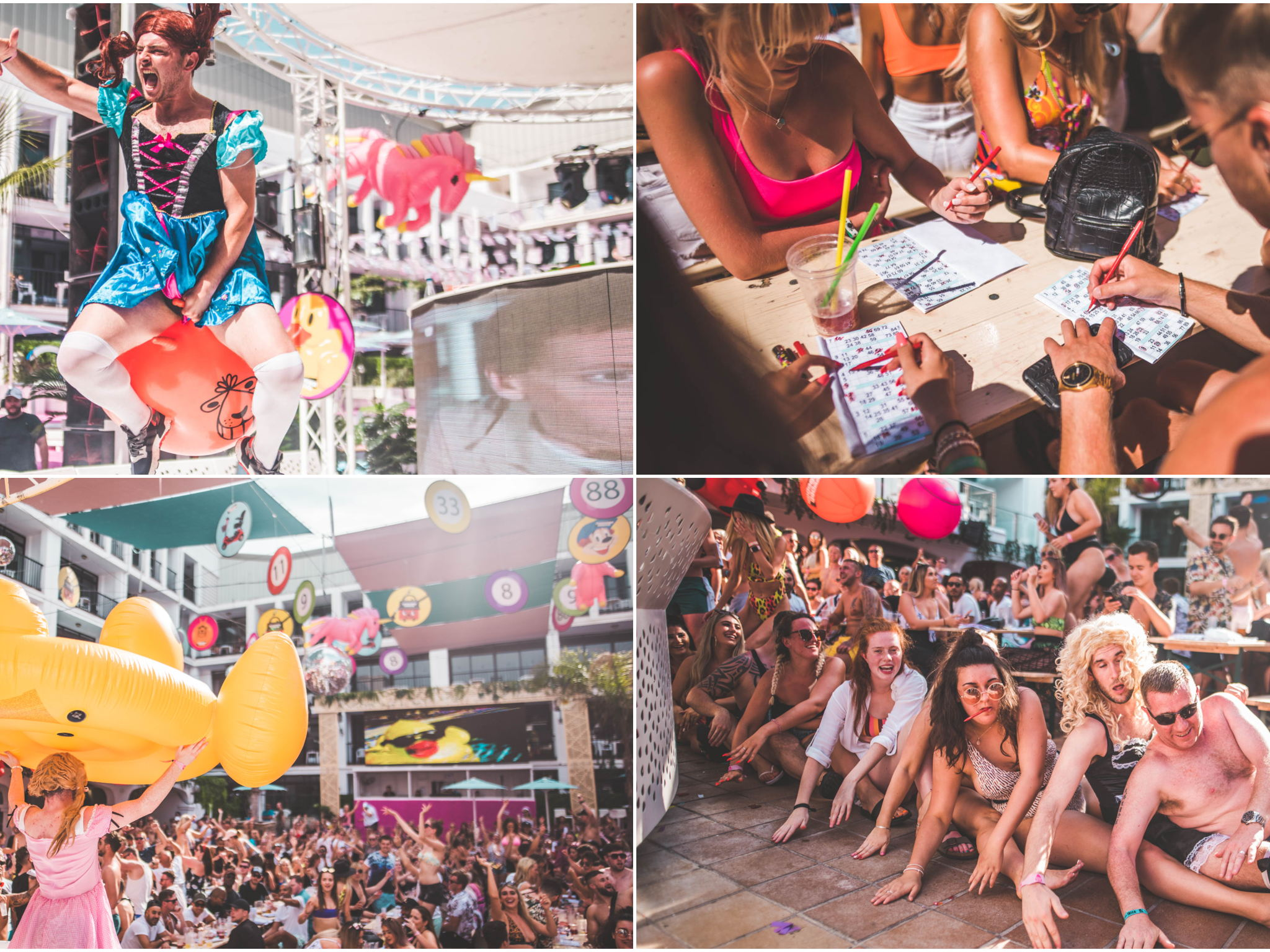 Image gallery Bongos Bingos pool party Ibiza rocks