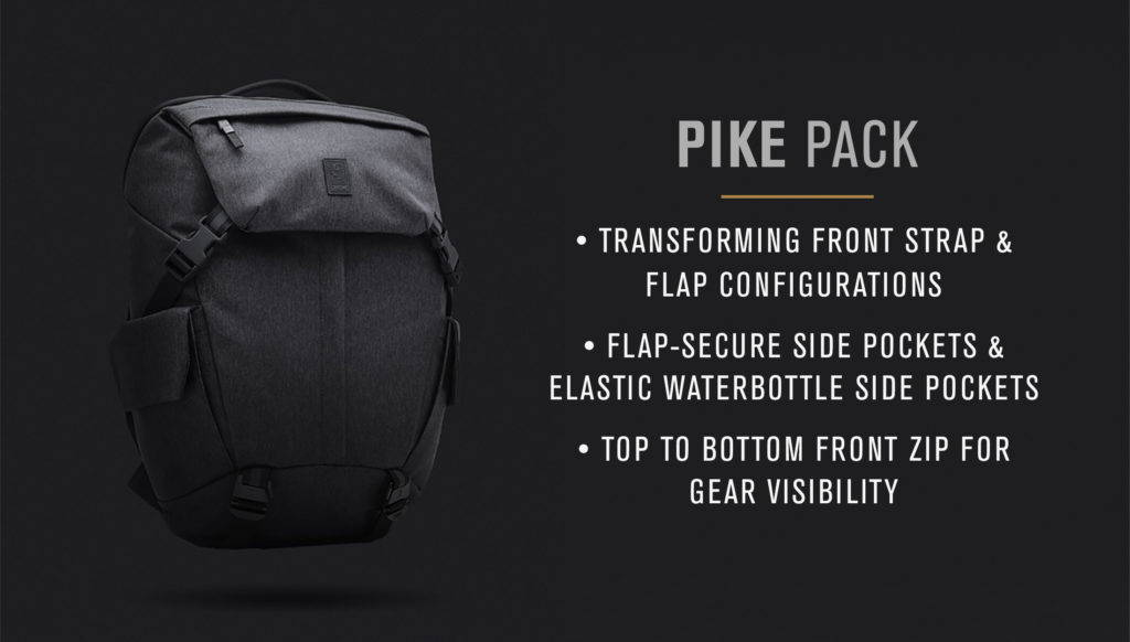 Buy the Chrome Industries Modal Pike Pack from Biggride Australia