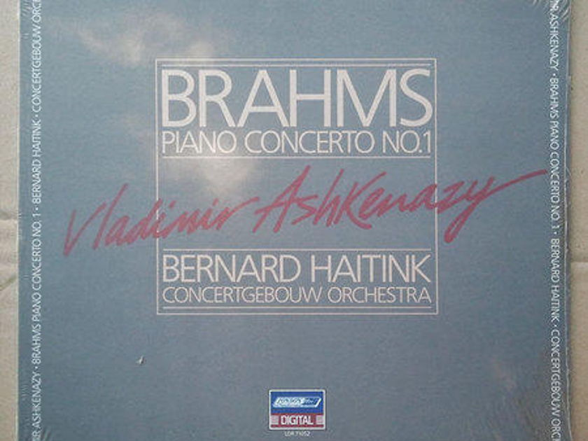 SEALED London Digital | ASHKENAZY/BRAHMS - Piano Concerto No. 1