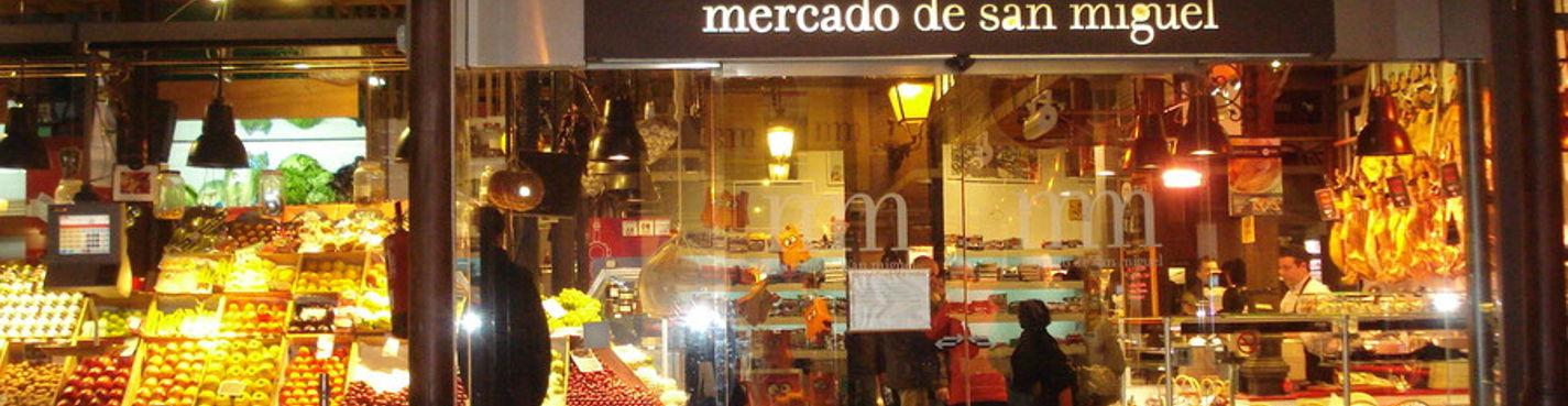 Мадридские рынки. Вкусно об интересном.