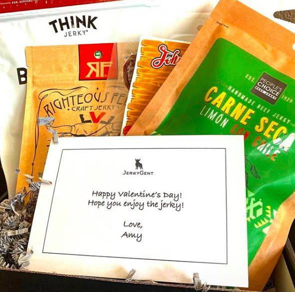 JerkyGent Beef Jerky Gift Subscription Box