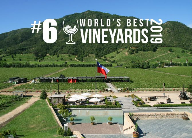 VIÑA MONTES ELEGIDA EN EL TOP 10 DE WORLD'S BEST VINEYARD 2019