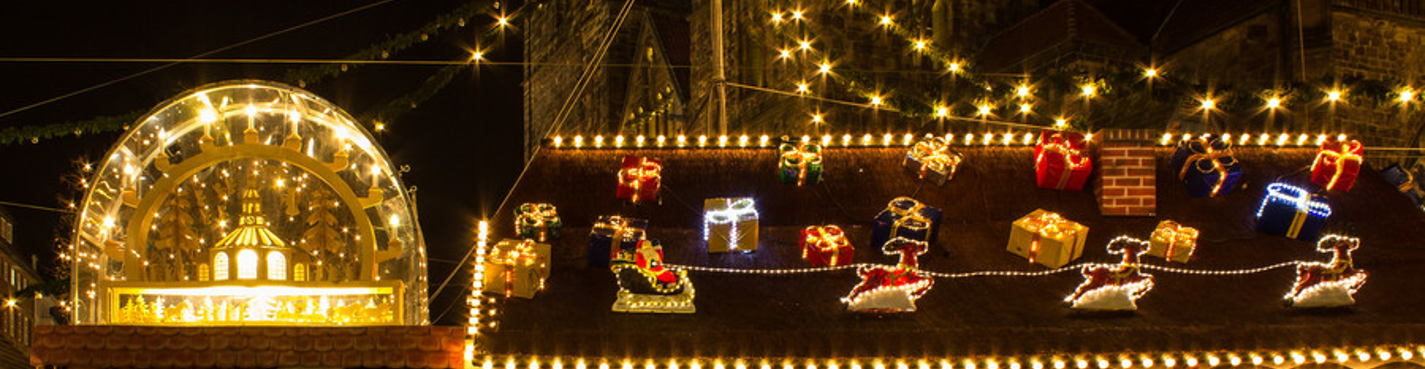 Рождество в Ганновере и Хильдесхайме