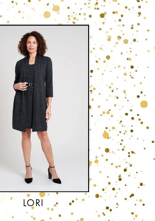 Shop Lori Jacket Dress >