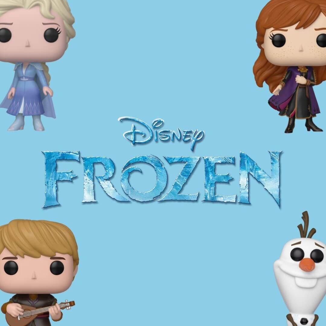 Anna, Bobble head, bobble-heads, frozen, Frozen 2, funko, under-1000, Walt Disney Pictures, Elsa, Kristoff, Olaf, disney