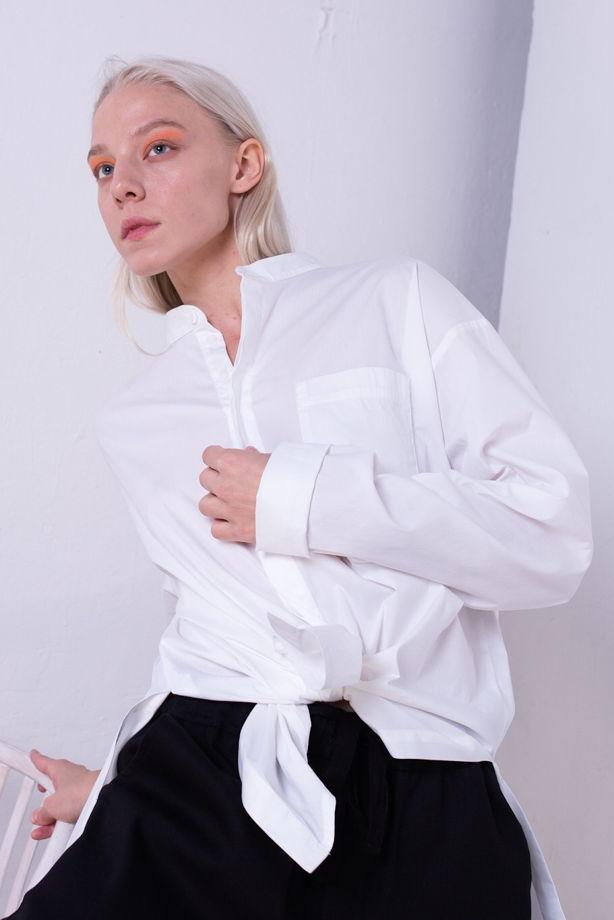 Белая рубашка/блузка «на все случаи жизни»