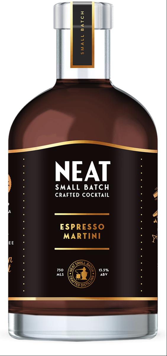 Neat Espresso Martini