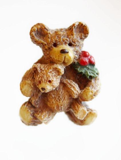 """Винтажная брошь """"Teddy Bear"""" от Silvia Bennett"""
