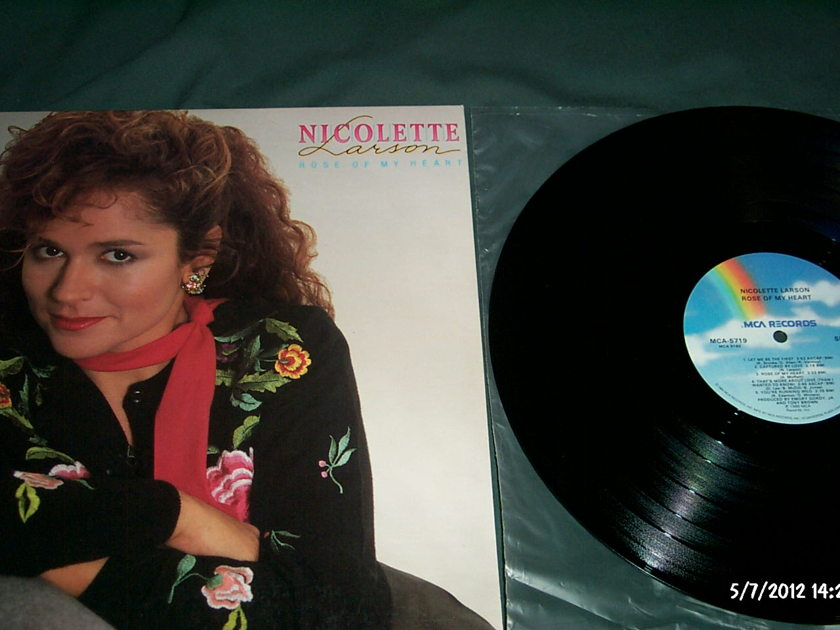 Nicolette Larson - Rose Of My Heart LP NM