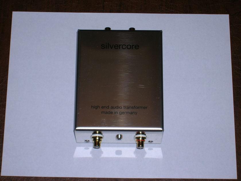 Silvercore One to Ten Moving Coil Transformer
