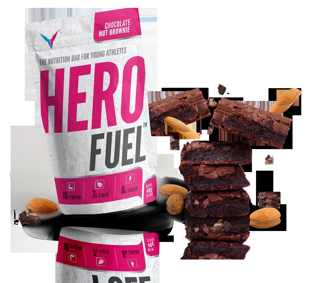 Hero Fuel Chocolate Nut Brownie
