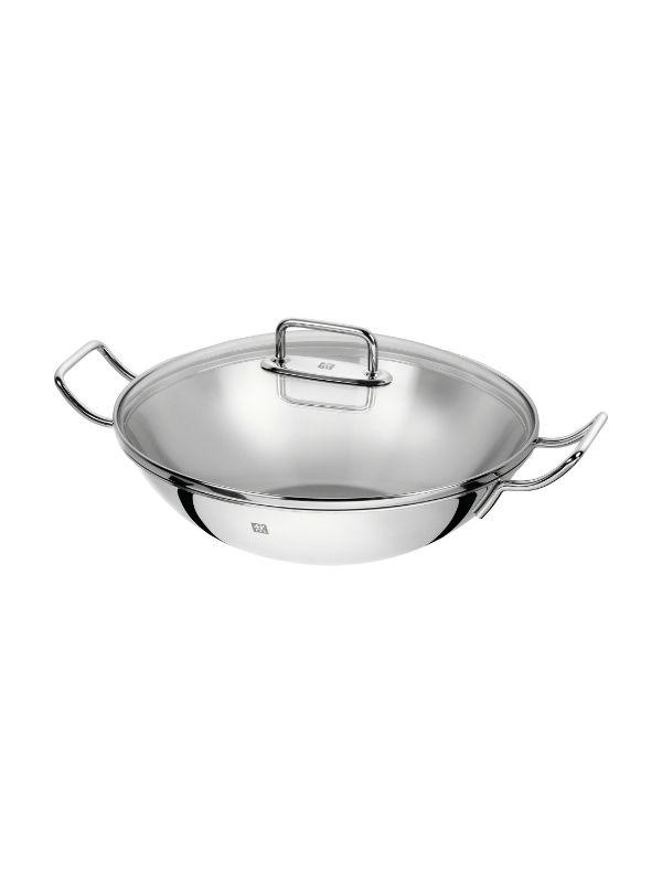 Stainless Steel Wok, 32 cm