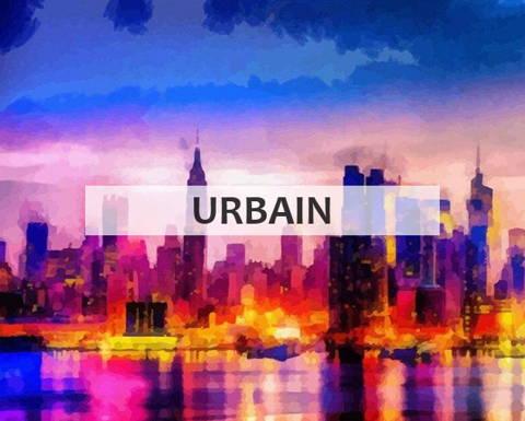 Peinture par numeros collection urbain