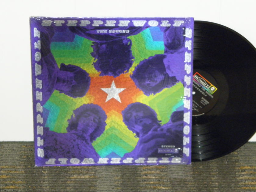 Steppenwolf - The Second   Orig 1st press Metallic Foil Cover Still in Shrink NM+  Dunhill DS 50037