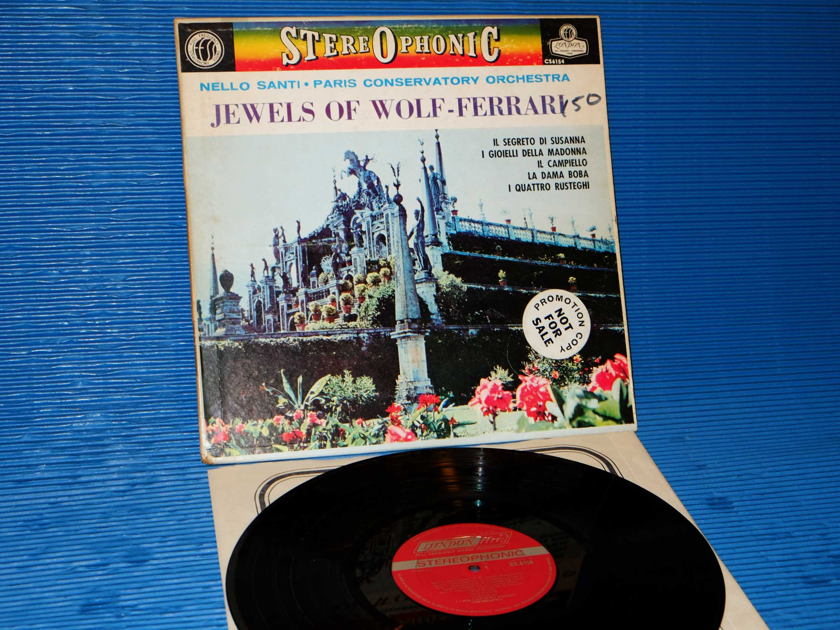 "WOLF-FERRARI / Santi   - ""Jewels of Wolf-Ferrari"" -  London 'Blue Back' 1963 ""promo'"