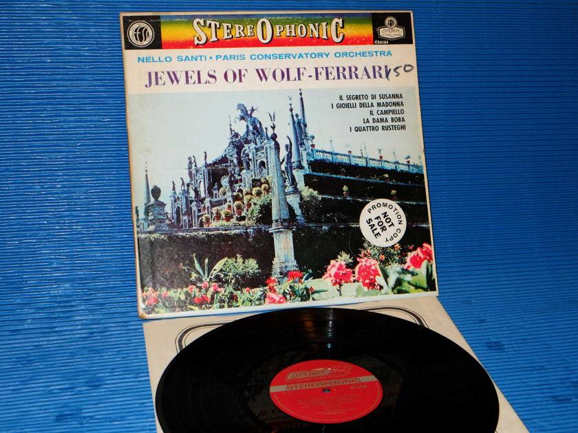 """WOLF-FERRARI / Santi   - """"Jewels of Wolf-Ferrari"""" -  London 'Blue Back' 1963 """"promo'"""