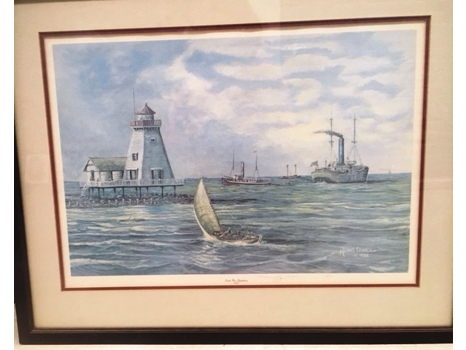 "Michael Estarlich ""South Pass Lighthouse 1908"""