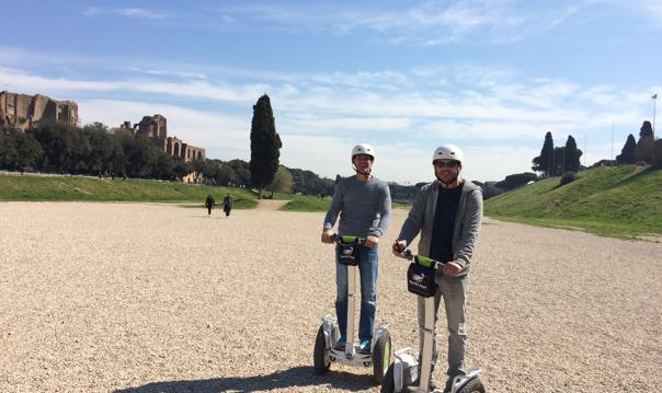 Сердце Рима - тур на сигвее (Segway)