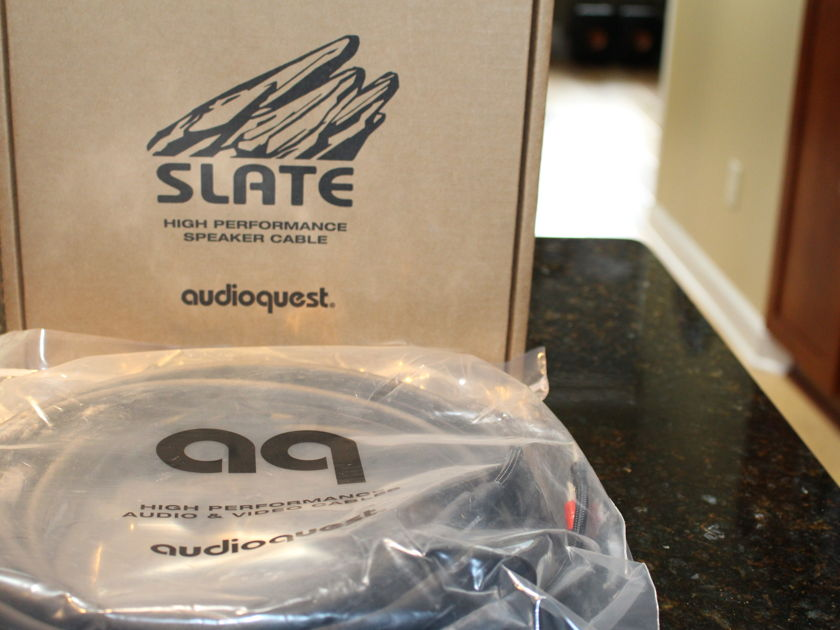 Audioquest  Slate  Speaker Cables